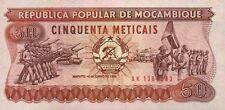 50 CINQUENTA METICAIS - MOCAMBIQUE MOZAMBICO FDS UNC - VEDI SCANSIONI -