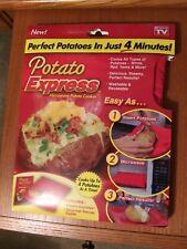 Potato Express - Microwave Potato Cooker Bag As Seen On Tv
