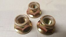 Lot of 3 OEM Ski-Doo Front Suspension Flange Lock Nuts 233221414 Tundra *NEW*