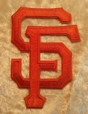 "Giants SF 3"" Iron On Embroidered Patch"