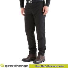 Pantalons jeans noir para-aramide pour motocyclette