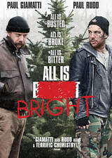All Is Bright (DVD, 2013, Widescreen) Paul Giamatti Paul Rudd NEW SEALED