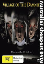 Village Of The Damned DVD NEW, FREE POSTAGE WITHIN  AUSTRALIA  REGION 4