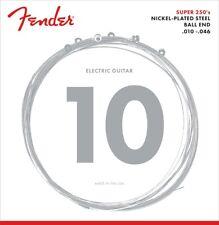 Genuine Fender Super 250R Nickel Plated Steel Strings 10-46 073-0250-406