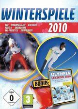 Winterspiele 2010  Wintersport und Olympia Lexikon Game für Pc Neu Ovp