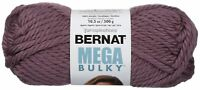Spinrite Bernat Mega Bulky Yarn-Purple, 161188-88334
