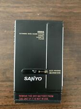 Sanyo Jj-P5 Stereo Cassette player Made in Japan. Ultra rare Collector