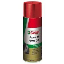 Castrol huile de graissage apres Nettoyage Filtre a air Sport Seat
