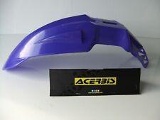ACERBIS BLUE FRONT MUDGUARD SUPERMOTO ENDURO MOTOCROSS FENDER YZF YZ DRZ DTR WR