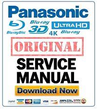 Panasonic DMP-BDT500 BDT500P BDT500PC Blu Ray Player Service Manual