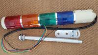 Tower Signal Safety Stack Alarm R/Y/B/G 16mm Pole Mount 110V-120V Light Bulb
