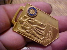 dept of iowa waterloo 1935 Old pocketr Watch Fob, american legion