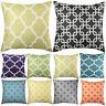 Home Decorative Linen Cushion Cover Sofa Square Throw Pillow Case Striking