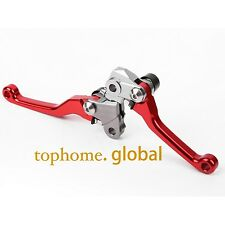 For Honda CRF450R CRF250R 2007-2017 Pivot Brake Clutch Levers Red CNC Racing