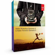 Adobe Photoshop Elements 11 & Premiere Elements 11,New, Full version, Mac/Win