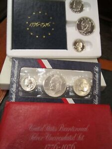 JOHN F KENNEDY COIN & CHRONICLE SET AND MORE