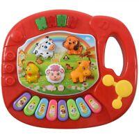 Baby Kids Musical Educational Animal Farm Piano Developmental Music Toy Q6E1