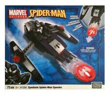 Megabloks Marvel Comics BLACK VENOM SPIDERMAN Speeder & Mini figura giocattolo in Scatola