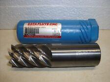 "1-1/4"" Data Flute MH71250 carbide end mill  1-1/4"" x 2"" x 4-1/2"" 7 flutes"