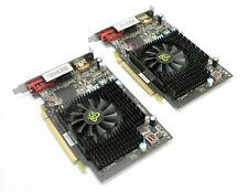 2 Lot:  XFX Radeon HD 5670 775M1GB DDR3 DP HDMI DVI PCIE Graphics Cards HD-567X