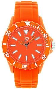 Reflex Orange Silcone Strap Analogue Ladies - Unisex Sports Watch SR004