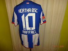 """Hertha BSC Berlin Original Nike Heim Trikot 2010/11 """"DB"""" + Nr.10 Raffael Gr.L"""
