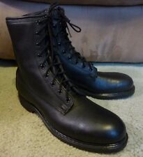 SZ 8 VINTAGE 1987 COVE SHOE COMPANY MADE IN USA MILITARY WORK BOOTS NOS