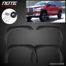 Fit For 02 08 Ram 1500 03 09 Ram 25003500 Pocket Rivet Style Fender Flares Fits More Than One Vehicle