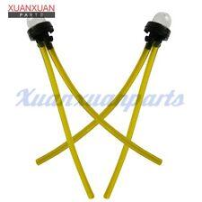 2x Snap In Primer Bulb Bulbs W/ 2ft Fuel Line For RYOBI 725R 767R 775R 705R 825R