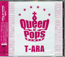 T-ARA-SINGLE COMPLETE BEST ALBUM QUEEN OF POPS (PEARL)-JAPAN CD G88