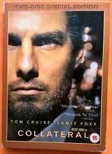 Collateral 2xDVD Region 2 Tom Cruise Jamie Foxx Jada Pinkett Smith Bardem Mann