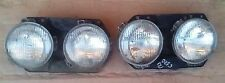NISSAN VANNETE C20 C120 MODEL 1980 87 PAIR OF HEADLIGHTS COMPLETE LEFT RIGHT