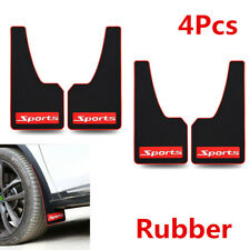4PCS Rubber Car Styling Sport Mud Flap Fender Cover For Honda Civic 06-11 Accord