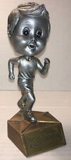 "2009 6"" Runner of The Year Trophy Award Bobblehead S-No-W Fun Run Lake Geneva WI"