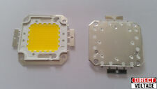 2PCS 100W LED Integrated High Power Lamp Beads WARM WHITE 30-36V 9500-1100LM