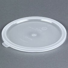 Carlisle 020230 Bain Marie Food Storage Lid, for 2 & 3.5Qt Container Round, NSF