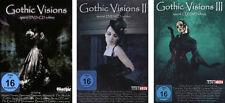 3 DVD + CD SPECIAL EDITION * GOTHIC VISIONS 1 - 3 IM SET # NEU OVP