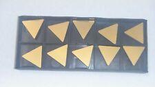 New 10pcs Tpg 432 Tin Coated Carbide Inserts