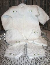 DARLING Knit Baby Doll Outfit For Reborn WHITE