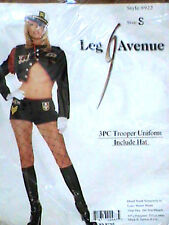 ADULT sexy LEG AVENUE military TROOPER uniform NAVY naval OFFICER party COSTUME