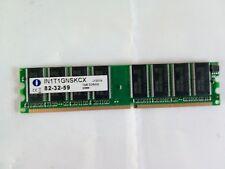 Integral IN1T1GNSKCX 1GB Memory RAM DDR400 PC3200 82-32-59