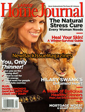 Ladies Home Journal 1/08,Hilary Swank,Marie Osmond,NEW