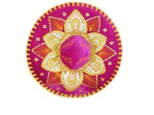 Mexican Mariachi Fancy Charro Sombrero Hat- Teen Size
