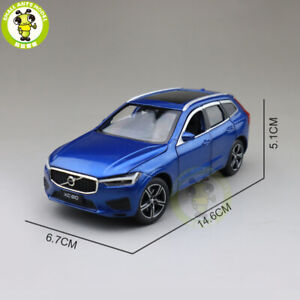 1/32 Jackiekim Volvo New XC60 shock absorption Diecast Model CAR SUV Toys kids