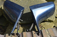 pair Cadillac electric door mirrors in blue