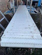 More details for conveyors, food grade white modular conveyor