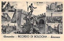 4612) RICORDO DI BOLOGNA, 7 VEDUTINE VIAGGIATA NEL 1961.