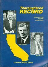 1979 Thoroughbred Record Magazine: Harvey Furgatch, Bob Gunderson, Brian Sweeney