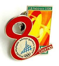 Pin Spilla Olimpiadi Torino 2006 Days Of The Games - Giorno 8