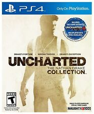 Uncharted: The Nathan Drake Collection (Sony PlayStation 4, 2015) **